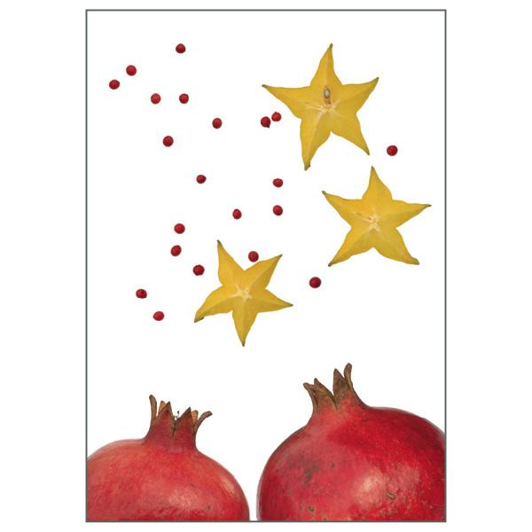 Postkarte 'Sternfrucht'