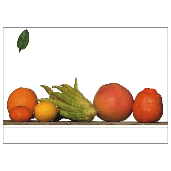 """Klappkarte """"Citrus"""", Vorderseite"""