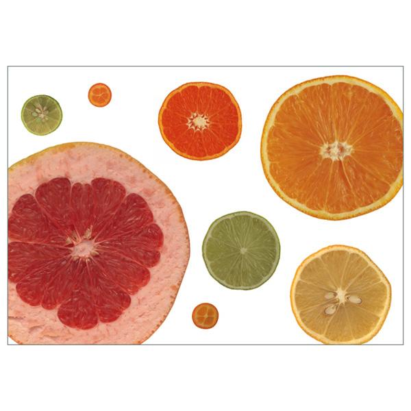 "Postkarte ""Citrus"""