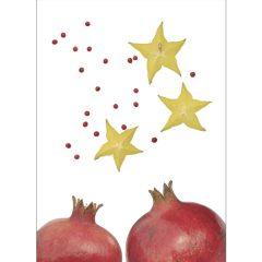 "Postkarte ""Sternfrucht"""