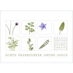 "Karte ""Grüne Sauce 2"""