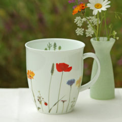 "Becher ""Wilder Sommer"" Fine Bone China 350 ml"