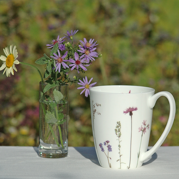 "Becher ""Flockenblume"", Fine Bone China, 250 ml"