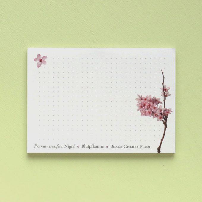 "Notizblock A6 ""Prunus"""